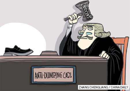 Solutions for anti-dumping duties case