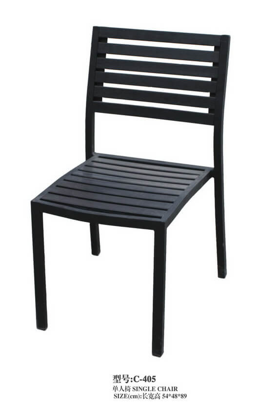 Cheap-All-Black-Metal-Outdoor-Chair-for-Sale