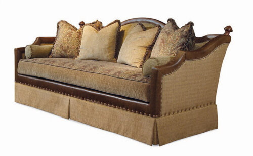 american_style_brown_leather_hotel_room_sofa_wood_frame_with_seat_cushion_upholstered_1