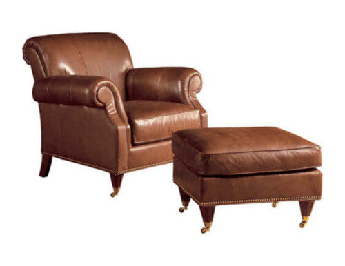 high_end_bedroom_brown_leisure_chair_ottoman_high_elasticity_sponge_3