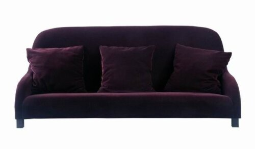 velvet_fabric_purple_hotel_room_sofa_three_two_seat_single_sofa_set_2