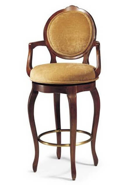 louis_xv_hotel_bar_stools_wooden_frame_round_back_with_armrest