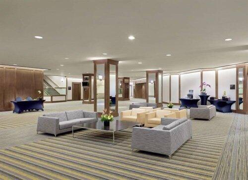 luxury_5_star_hotel_lobby_furniture_fabric_sofa_stainless_steel_frame_ebony_reception_table_set_1