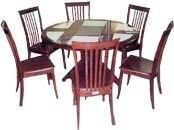 modern_cherry_veneer_restaurant_round_table_with_chair_set_dining_room_tables_2