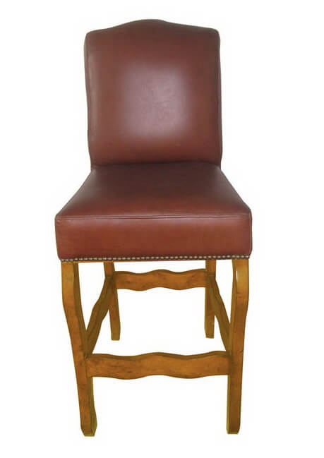 modern_pu_leather_upholstered_bar_stools_for_club_square_back_wood_frame