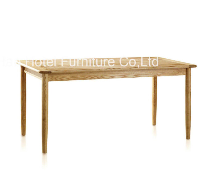 nordic_style_nature_solid_wood_hotel_dining_table_rectangle_walnut_veneer_1